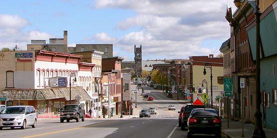 Main Street, Malone NY