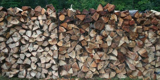 Firewood is one source of income from your woods.