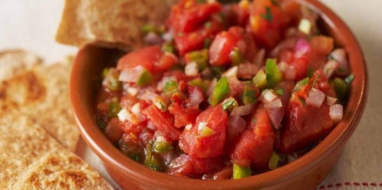 Tomato salsa from Cooking Matters