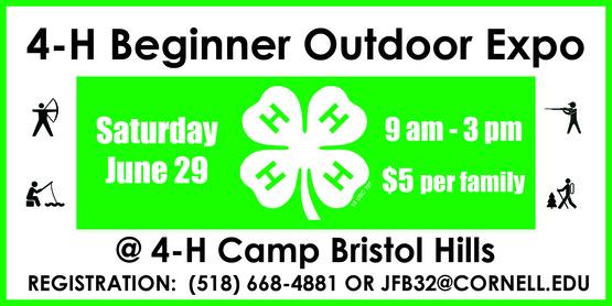 4-H Beginner Outdoor Expo