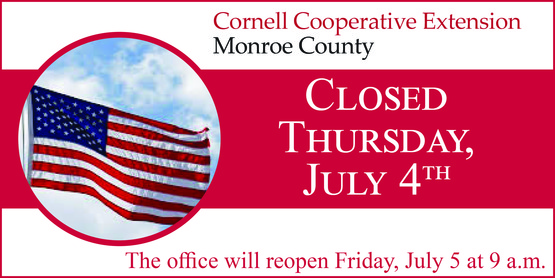 Closed Thursday, July 4th