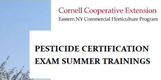 Pesticide Certification Class