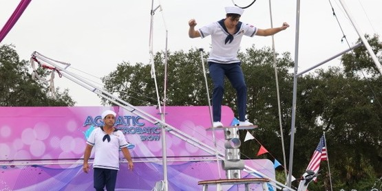 Aquatics Acrobatics Show