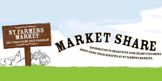 Your EBT/Food Stamp/SNAP card is welcome at a farmers' market near you!