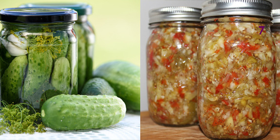 pickles and chutney