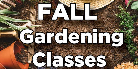 MG Fall Gardening Classes