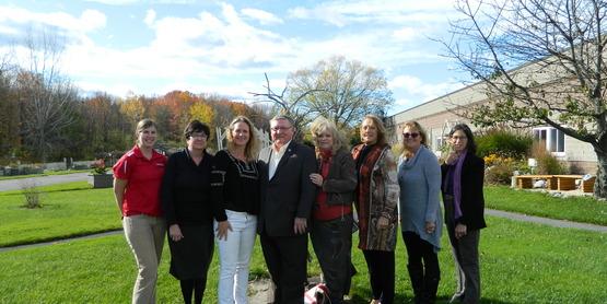 Assemblyman Ken Blankenbush Visits CCE Oneida