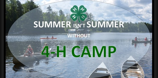 Summer isn't summer without 4-H Camp Overlook