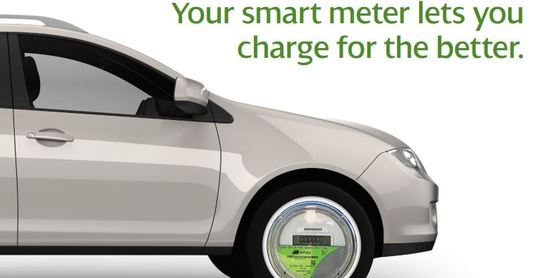 Electric Vehicle charging with smart meter