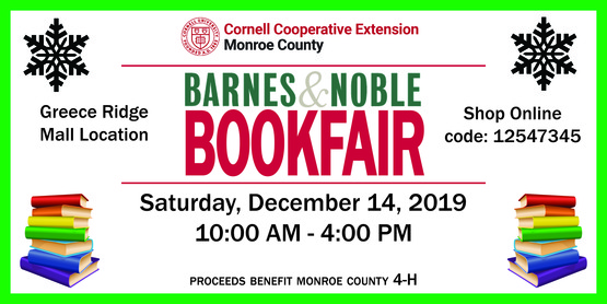 Barnes & Noble Book Fair - winter - banner