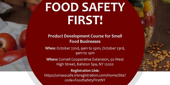 Food SAfety First Flyer