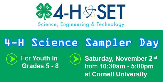 4H Science Sampler