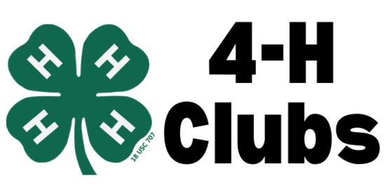 4-H Club Info