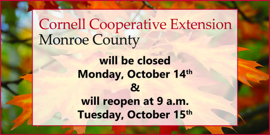 October 14, 2019 Office closure