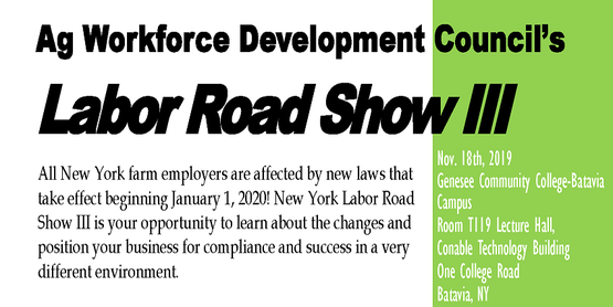 All New York farm employers are affected by new laws that