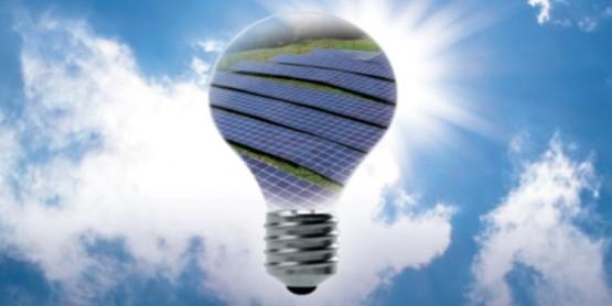 lightbulb in the sky
