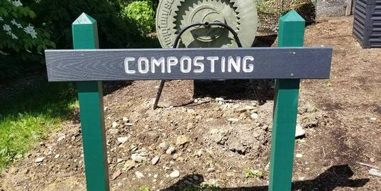 Compost Demonstration Site Sign