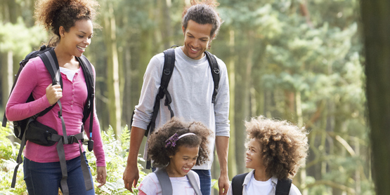 Hiking for strong families