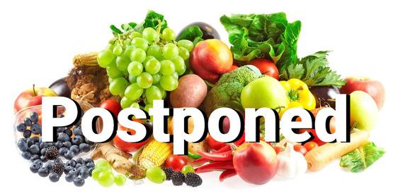 FSMA PSA Grower Training Postponed
