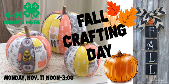 Fall Crafting Day