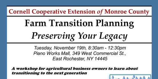 Farm Transition Planning Flyer