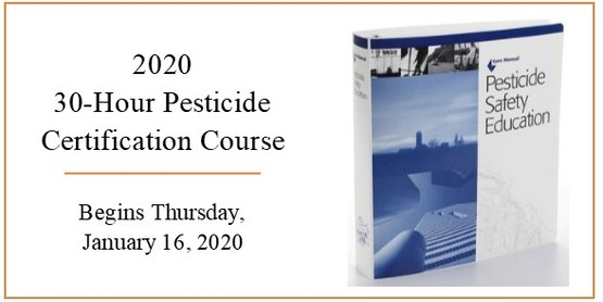 30-hour pesticide certification course