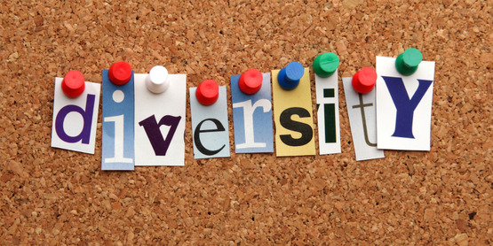 Diversity - word spelled in cut out letters on a corkboard, free download from Istock.com