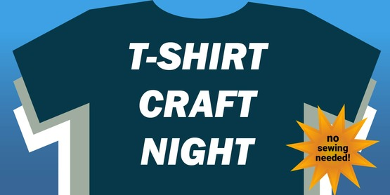 T-Shirt Craft Night Flyer