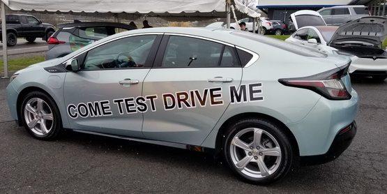 EV test drive