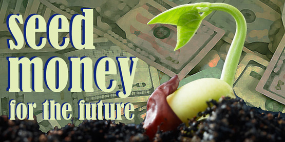 banner for Seed Money for the Future