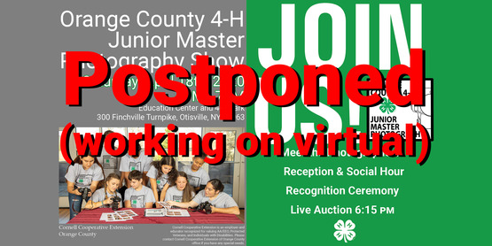 Save the Date Junior Master Photographers (Join us version) (Website Banner) Postponed working on virtual