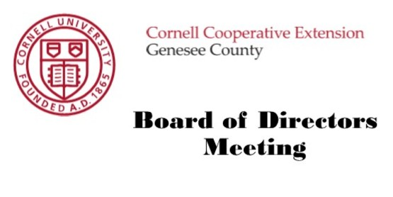 Board meeting header