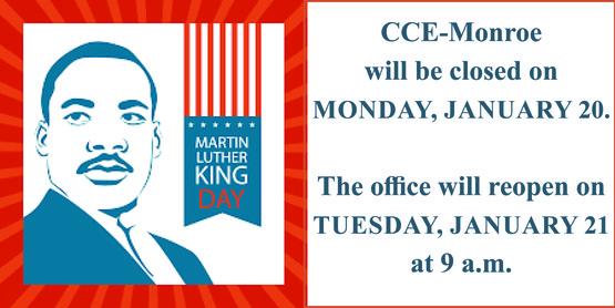 2020 MLK Day closing