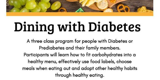 Dining with Diabetes - Schuylerville