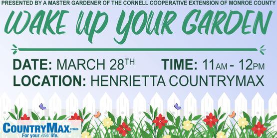Wake Up Your Garden Master Gardener Talk Event