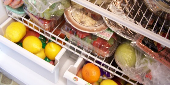 interior photo of refrigerator for use with FNP program pages
