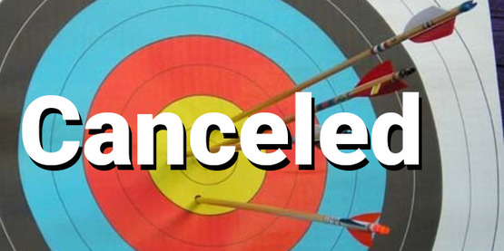 archery Canceled