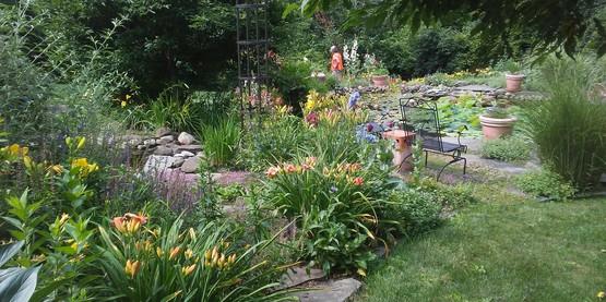 Cindy Lion's garden, a site on the 2018 Open Days Garden tours