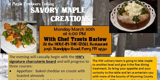 Savory Maple Creations Postcard 2020