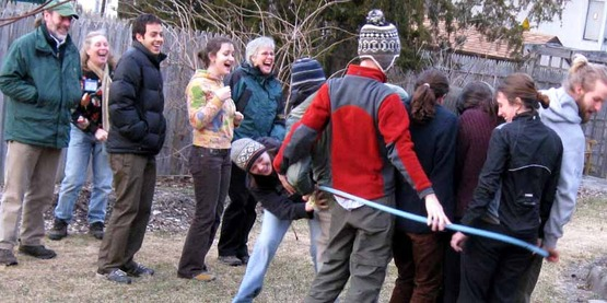Icebreaker at Master Composter Volunteer training session, 2009