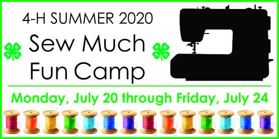 2020 Sew Much Fun Camp
