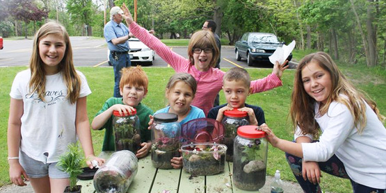 4-H Terrarium Workshop
