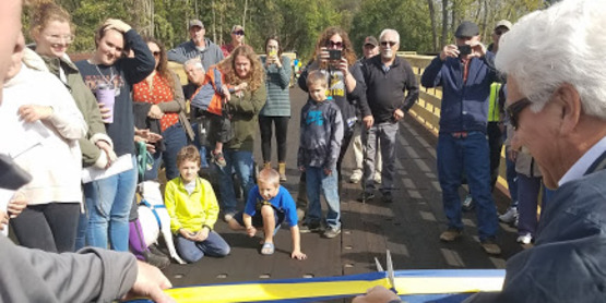 Bridge Opening Celebration on the Empire State Trail