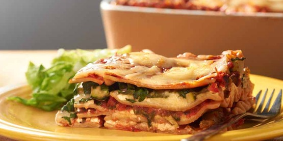 Vegetable Lasagna from Cooking Matters