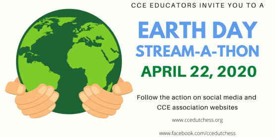 CCE virtual earth day