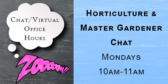 Horticulture and Master Gardener Chat