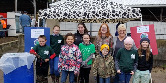 Project Clover Aid 4-H members April 2019