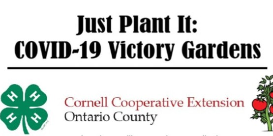 Victory Garden Course. Pre-registration required.