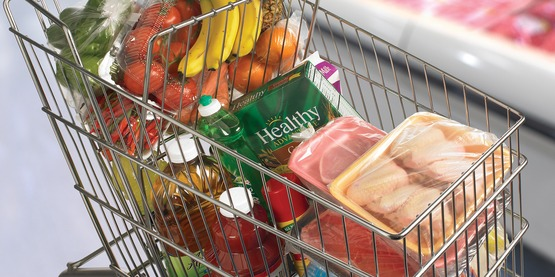 Raw meat, poultry, and seafood should be wrapped securely and kept separate to prevent raw juices from contaminating other foods.