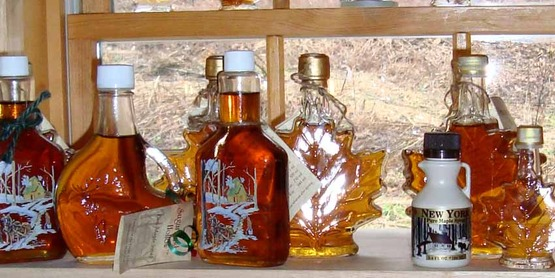 Maple products, syrup